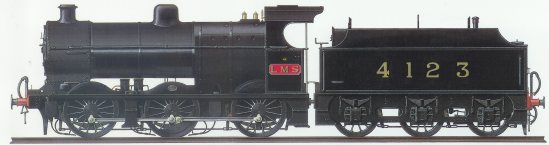 4123 side elevation_early LMS